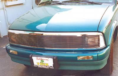T-Rex - Chevrolet S10 T-Rex Grille Assembly - Chrome - 50250
