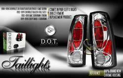 Custom - Chrome Altezza Taillights