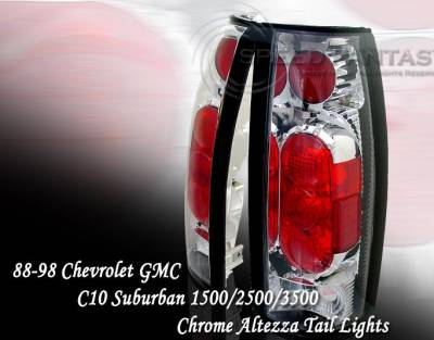 Custom - Chrome Clear Taillights