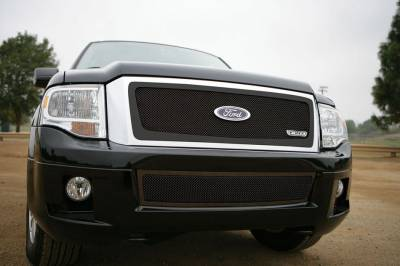 T-Rex - Ford Expedition T-Rex Upper Class Mesh Grille - All Black - 51594