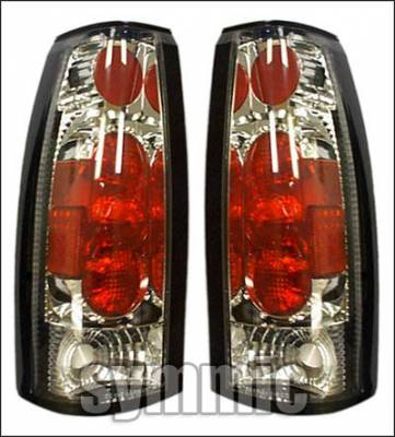 Custom - Euro Chrome Clear Taillights
