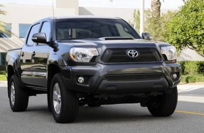 T-Rex - Toyota Tacoma T-Rex Upper Class Mesh Grille Overlay - Bolt On - All Black - 4PC - 51940