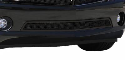 T-Rex - Chevrolet Camaro T-Rex Upper Class Mesh Bumper Grille - All Black with Formed Mesh - 52027