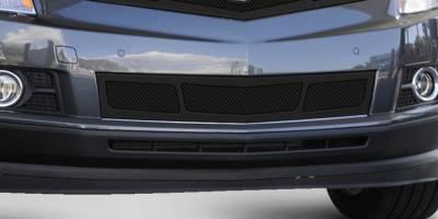 T-Rex - Cadillac SRX T-Rex Upper Class Mesh Bumper Grille - Overlay - Full Opening - Black - 52186