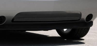 T-Rex - Dodge Challenger T-Rex Upper Class Bumper Mesh Grille with Frame - All Black - 52416