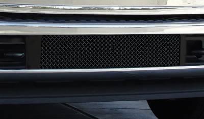 T-Rex - Ford Superduty T-Rex Upper Class Bumper Mesh Grille - All Black - 52563