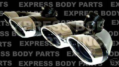 Custom - W220 Quad Exhaust Tips