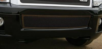 T-Rex - Ford Expedition T-Rex Upper Class Bumper Mesh Grille - All Black - 52594