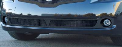 T-Rex - Nissan Altima T-Rex Upper Class Bumper Mesh Grille - All Black - 52762