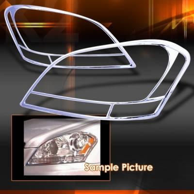 Custom Disco - Mercedes-Benz ML Custom Disco Chrome Headlights - TLH-BW16406C