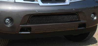 T-Rex - Nissan Armada T-Rex Upper Class Bumper Mesh Grille - All Black - 52782