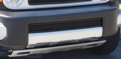 T-Rex - Toyota FJ Cruiser T-Rex Upper Class Bumper Mesh Grille - All Black - 52932