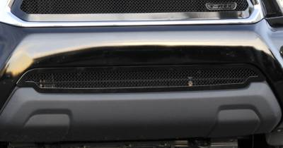 T-Rex - Toyota Tacoma T-Rex Upper Class Polished Stainless Bumper Mesh Grille - All Black - 52938