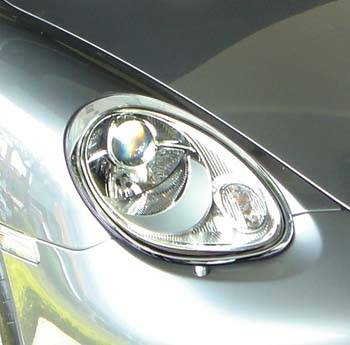 Custom - Boxster Chrome Headlights Trim