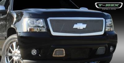T-Rex - Chevrolet Tahoe T-Rex Upper Class Polished Stainless Mesh Grille - 1PC - 54052