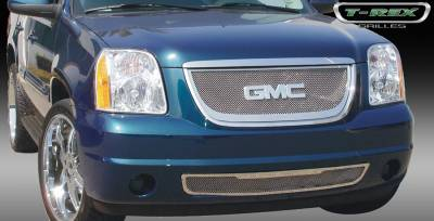 T-Rex - GMC Yukon T-Rex Upper Class Polished Stainless Mesh Grille - 54171