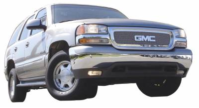 T-Rex - GMC Yukon T-Rex Upper Class Polished Stainless Mesh Grille - 54175