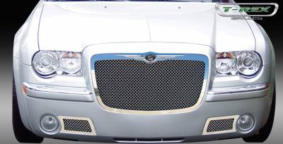 T-Rex - Chrysler 300 T-Rex Upper Class Polished Stainless Mesh Grille - 54471