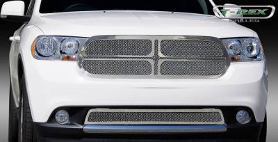 T-Rex - Dodge Durango T-Rex Upper Class Polished Stainless Mesh Grille - 1PC - 54492