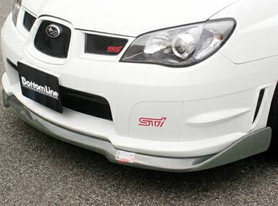 Chargespeed - Subaru WRX Chargespeed Bottom Line Front Lip Type-2