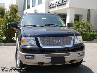 T-Rex - Ford Expedition T-Rex Upper Class Polished Stainless Mesh Grille - 54590