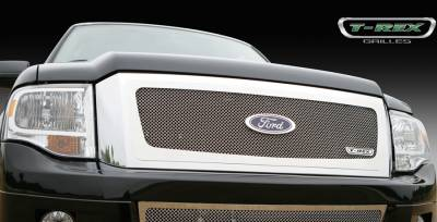 T-Rex - Ford Expedition T-Rex Upper Class Polished Stainless Mesh Grille - 54594