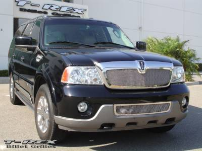 T-Rex - Lincoln Navigator T-Rex Upper Class Polished Stainless Mesh Grille - 54695