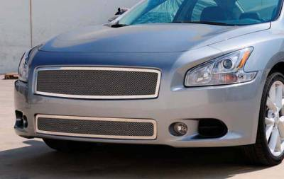 T-Rex - Nissan Maxima T-Rex Upper Class Polished Stainless Mesh Grille - 54758