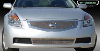 T-Rex - Nissan Altima T-Rex Upper Class Polished Stainless Mesh Grille - 54769