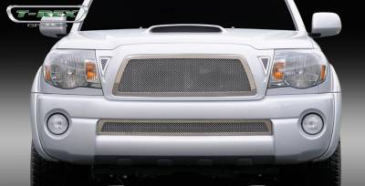 T-Rex - Toyota Tacoma T-Rex Upper Class Polished Stainless Mesh Grille - 54895