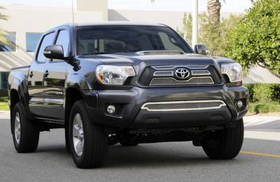 T-Rex - Toyota Tacoma T-Rex Upper Class Mesh Grille Overlay - Bolt On - 4PC - 54940