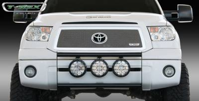 T-Rex - Toyota Tundra T-Rex Upper Class Polished Stainless Mesh Grille with Formed Mesh Center with Logo Opening - 54961