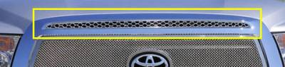 T-Rex - Toyota Tundra T-Rex Upper Class Top Grille Accent - 1PC - 54962
