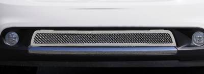 T-Rex - Dodge Durango T-Rex Upper Class Polished Stainless Mesh Bumper Grille with Formed Mesh Center - 55492