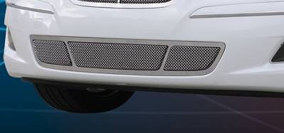 T-Rex - Hyundai Genesis T-Rex Upper Class Polished Stainless Bumper Mesh Grille with Formed Mesh Center - 55494