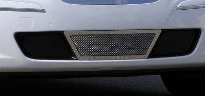 T-Rex - Hyundai Genesis T-Rex Upper Class Polished Stainless Bumper Mesh Grille - Center Area Only with Formed Mesh Center - 55495