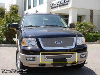 T-Rex - Ford Expedition T-Rex Upper Class Polished Stainless Bumper Mesh Grille - 55590