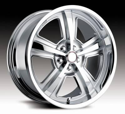 Carroll Shelby Wheels - Ford Mustang Carroll Shelby Wheels Chrome Carroll Shelby CS69 Wheel