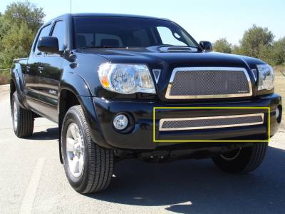 T-Rex - Toyota Tacoma T-Rex Upper Class Polished Stainless Bumper Mesh Grille - 55895