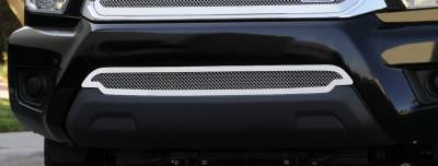 T-Rex - Toyota Tacoma T-Rex Upper Class Polished Stainless Bumper Mesh Grille - 55938