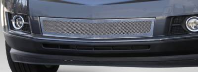 T-Rex - Cadillac SRX T-Rex Upper Class Mesh Bumper Grille - Overlay - Full Opening - Chrome - 57186