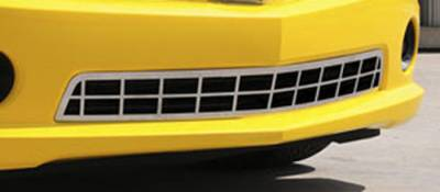T-Rex - Chevrolet Camaro T-Rex Custom Classic Stainless Bumper Grille - 67028