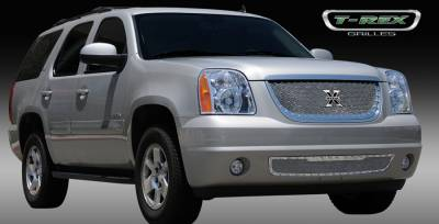 T-Rex - GMC Yukon T-Rex X-Metal Series Studded Main Grille - Polished Stainless Steel - 6711710