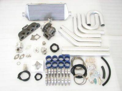 Custom - 90-97 F22 ACCORD T3 TURBO CHARGER KIT w-piping