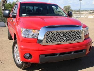 T-Rex - Toyota Tundra T-Rex X-Metal Series Studded Main Grille - Polished Stainless Steel - 6719590