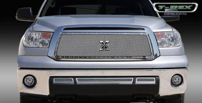 T-Rex - Toyota Tundra T-Rex X-Metal Series Studded Main Grille - Polished Stainless Steel - 6719630