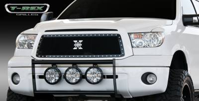 T-Rex - Toyota Tundra T-Rex X-Metal Series Studded Main Grille - All Black - 6719631