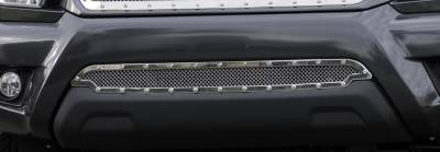 T-Rex - Toyota Tacoma T-Rex X-Metal Series Studded Bumper Grille - Polished Stainless Steel - 6729380