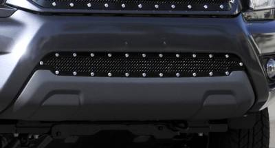 T-Rex - Toyota Tacoma T-Rex X-Metal Series Studded Bumper Grille - All Black - 6729381