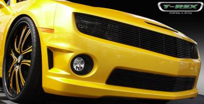 T-Rex - Chevrolet Camaro T-Rex Phantom Billet Grille - All Black - 20027B